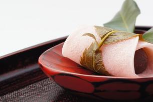 和菓子_桜餅の写真素材 [FYI00461821]