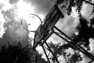バスケットゴールの写真素材 [FYI00462369]