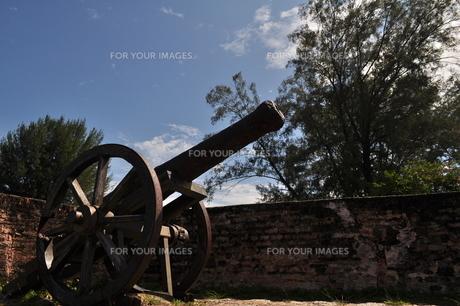 移動式大砲の写真素材 [FYI00462428]