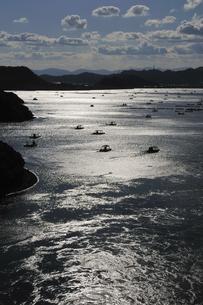 釣り筏の写真素材 [FYI00463669]