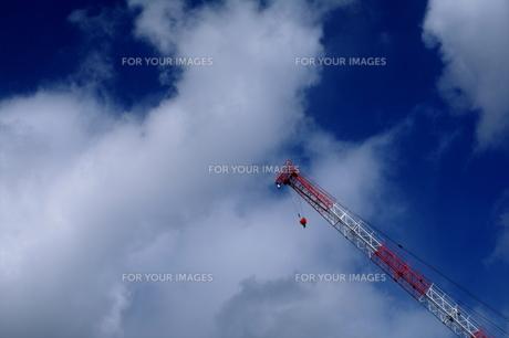 青空の写真素材 [FYI00463982]