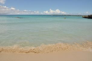 沖縄の波の写真素材 [FYI00464061]