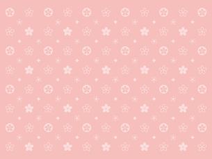 桜のモノグラム‐ピンクの写真素材 [FYI00464077]