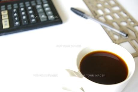 コーヒーブレイクの写真素材 [FYI00464159]