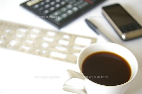 コーヒーブレイクの写真素材 [FYI00464166]