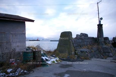古い漁港の写真素材 [FYI00464213]