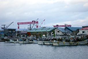 古い漁港の写真素材 [FYI00464218]