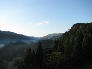 秋の早朝の写真素材 [FYI00464486]