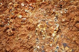 土のデザインの写真素材 [FYI00464789]