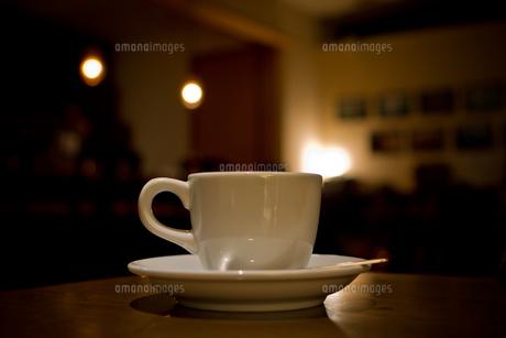 一杯のコーヒーの写真素材 [FYI00465474]