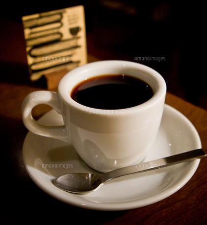 一杯のコーヒーの写真素材 [FYI00465478]
