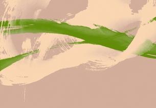 アブストラクト(緑・ダークピンク)の素材 [FYI00466055]