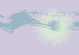 アブストラクトとにじみ(青・うすい紫)の素材 [FYI00466063]