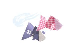 折り紙の金魚の素材 [FYI00466103]