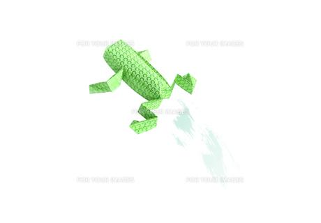 折り紙の蛙の素材 [FYI00466107]