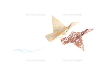 折り紙の鳩の素材 [FYI00466109]
