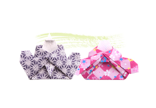 折り紙のひな人形の素材 [FYI00466117]