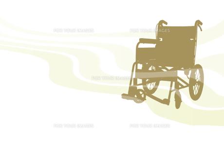 車椅子の素材 [FYI00466133]