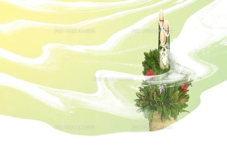 門松の写真素材 [FYI00466151]