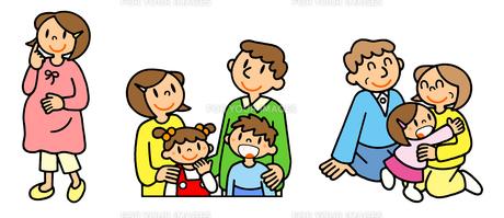 女性の一生 出産と育児と老後の写真素材 [FYI00466361]
