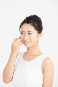 肌の綺麗な女性の写真素材 [FYI00466393]