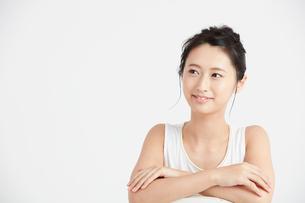 肌の綺麗な女性の写真素材 [FYI00466409]