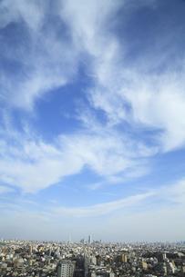 空と街並みの写真素材 [FYI00468948]