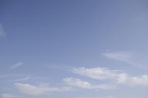 青空と雲の写真素材 [FYI00469423]