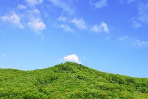 新緑の里山の写真素材 [FYI00470015]