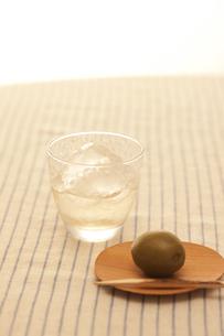 梅の実と梅酒の素材 [FYI00470426]