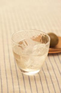 梅の実と梅酒の素材 [FYI00470438]