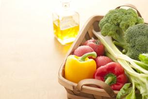 かごに入った野菜の素材 [FYI00470443]