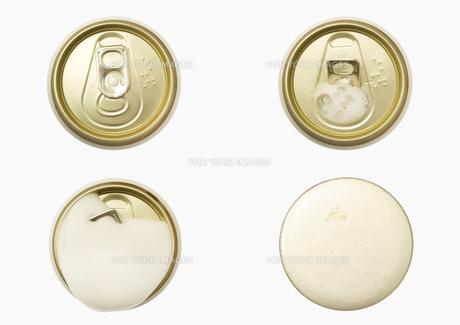 プルトップをあけて出てくるビールの泡の素材 [FYI00470574]