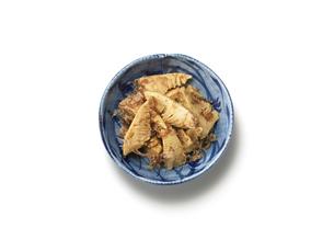 竹の子の煮付けの写真素材 [FYI00470582]