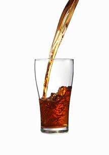 グラスに注がれる紅茶の素材 [FYI00470724]