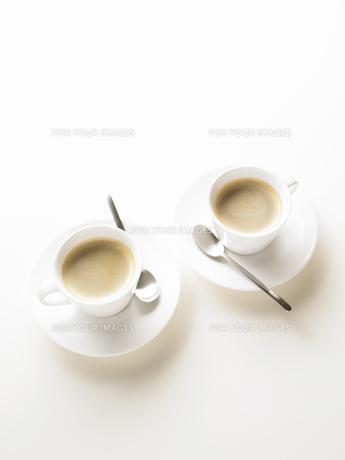 2セットのコーヒーカップの写真素材 [FYI00470741]