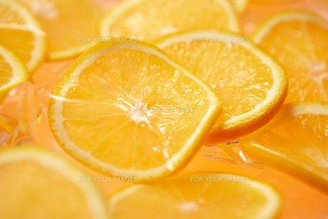 オレンジのスライスの素材 [FYI00470762]