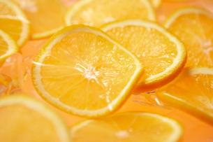 オレンジのスライスの写真素材 [FYI00470762]