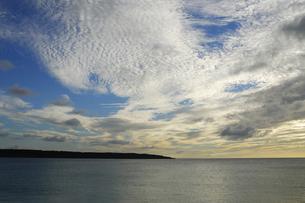 海 前浜ビーチ 夕景の写真素材 [FYI00471112]
