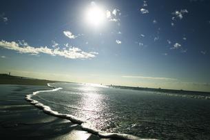 朝の海の写真素材 [FYI00471208]