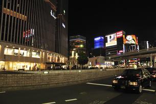 数寄屋橋界隈の夜景の写真素材 [FYI00472153]