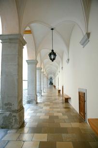 メルク修道院の廊下の写真素材 [FYI00473360]