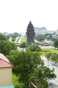 独立記念塔の写真素材 [FYI00473432]