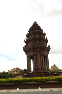 独立記念塔の写真素材 [FYI00473452]