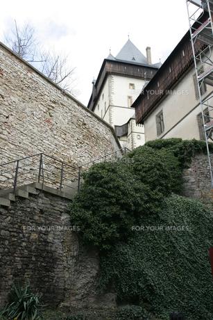 カレルシュタイン城の写真素材 [FYI00473465]