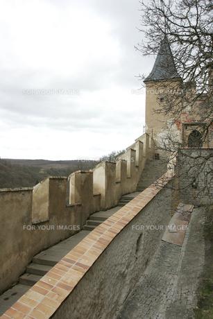 カレルシュタイン城の写真素材 [FYI00473471]