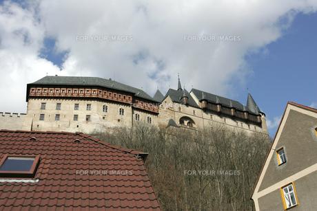 カレルシュタイン城の写真素材 [FYI00473476]