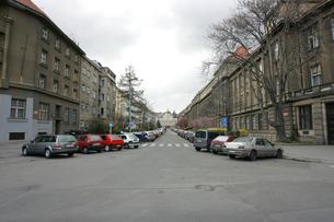 プラハの街並みの写真素材 [FYI00473493]