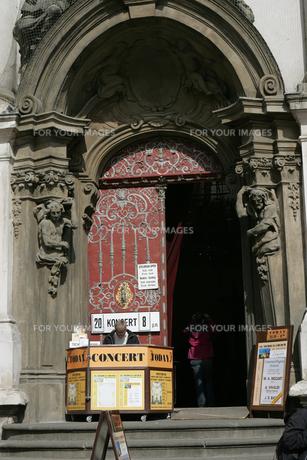教会入り口の写真素材 [FYI00473515]