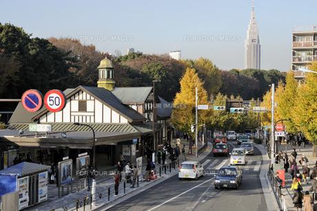 原宿駅の写真素材 [FYI00473731]